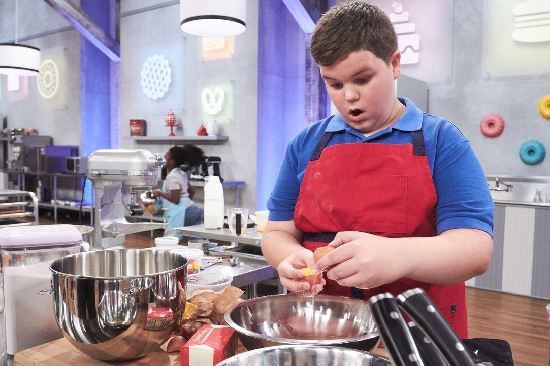 """Junge Backtalente, wie Kandidat Aidan Berry, finden in der """"Kids Baking Championship"""" eine Bühne, ihre Kreativität unter Beweis zu stellen. Doch der... - Bildquelle: Adam Rose 2016, Television Food Network, G.P. All Rights Reserved."""