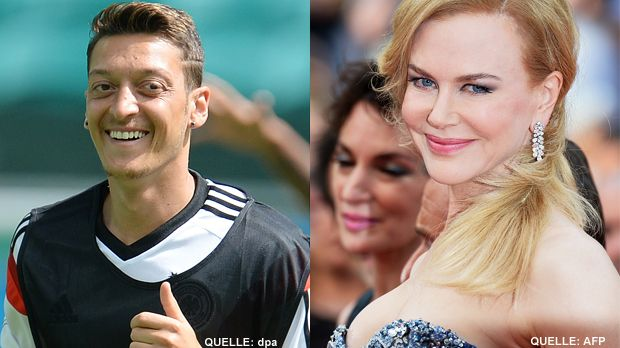 TOP Mesut Oezil FLOP Nicole Kidman - Bildquelle: dpa   /   AFP