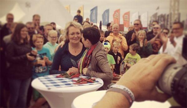 Kathy und die Schärfequeen - Bildquelle: instagram