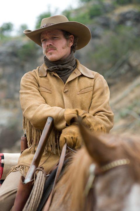 Der junge Texas Ranger LaBoeuf (Matt Damon) ist ziemlich von sich überzeugt, bis er auf ein blitzgescheites 14-jähriges Mädchen stößt, das alle... - Bildquelle: (2010) PARAMOUNT PICTURES. All rights reserved.