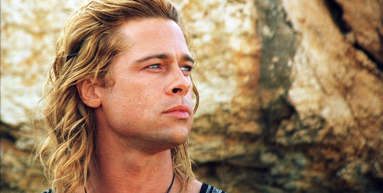 Ist in seinem Hunger nach Ruhm und Unsterblichkeit schier unersättlich: Achilles (Brad Pitt) ... - Bildquelle: Warner Brothers International Television