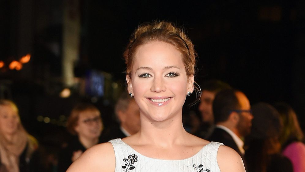 Die Tribute Von Panem Star Jennifer Lawrence Von Katniss Everdeen