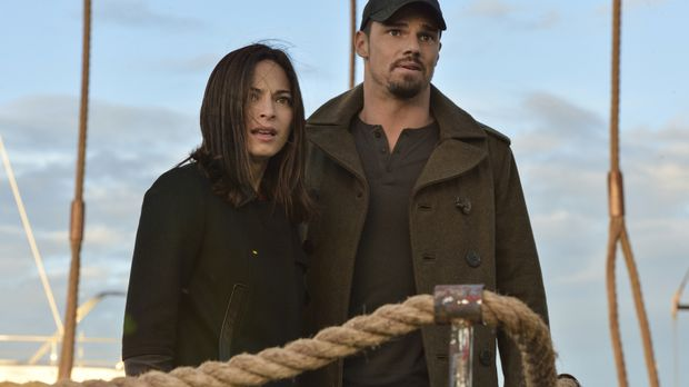 Beauty and the Beast - Cat (Kristin Kreuk, l.) und Vincent (Jay Ryan, r.) müs...