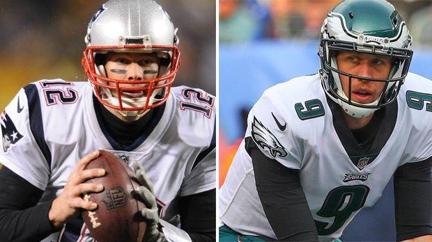 Head to Head: New England Patriots vs. Philadelphia Eagles - Bildquelle: Imago
