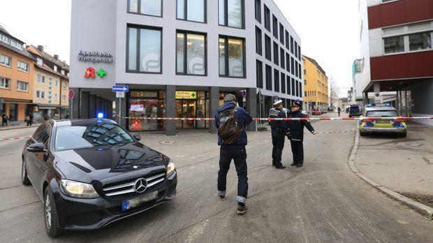 Polizeieinsatz in Ulm
