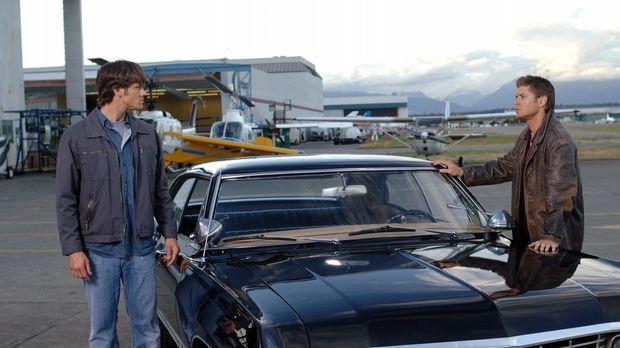 Ein neues Abenteuer wartete auf Sam (Jared Padalecki, l.) und Dean (Jensen Ac...