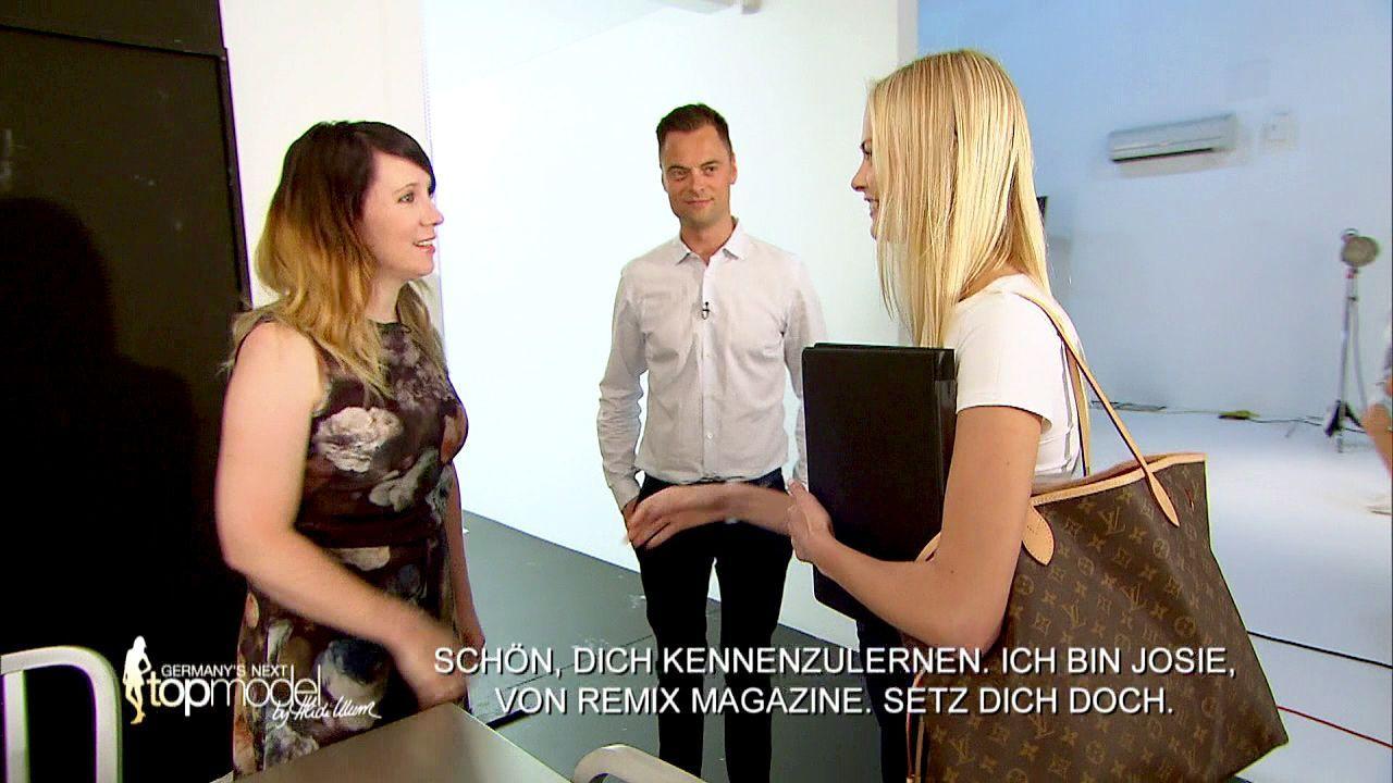 GNTM-Stf10-Epi09-Casting-Remix-Magazin-02-ProSieben - Bildquelle: ProSieben