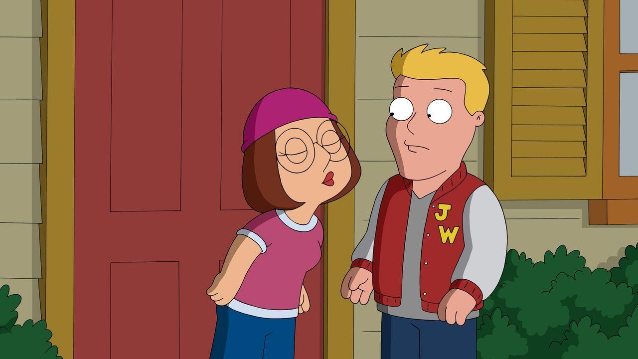 Meg (l.) ist über beide Ohren in ihren Klassenkameraden Kent Lastname (r.) verknallt. Schließlich fasst sie sich ein Herz und bittet ihn um ein Date... - Bildquelle: 2013 Twentieth Century Fox Film Corporation. All rights reserved.