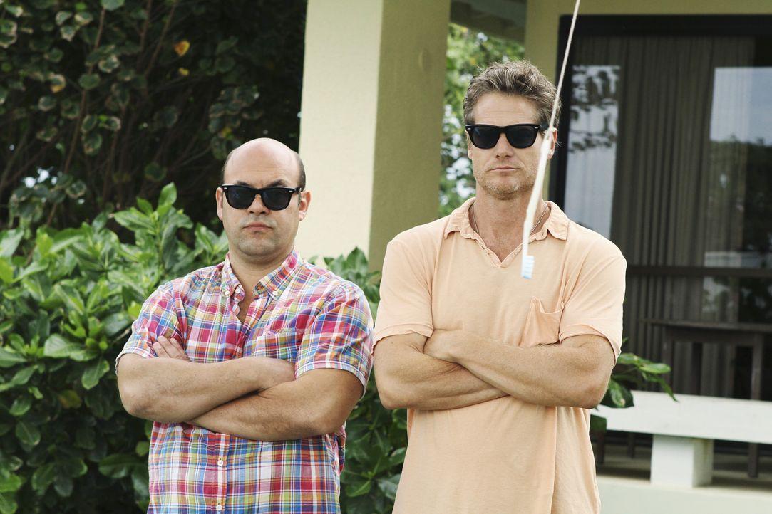 Gute Freunde: Andy (Ian Gomez, l.) und Bobby (Brian Van Holt, r.) ... - Bildquelle: 2010 ABC INC.