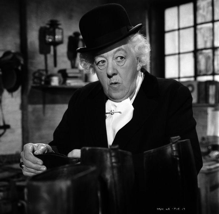Wird Hobbydetektivin Miss Marple (Margaret Rutherford) es schaffen, den Mörder des schwerreichen Mr. Enderby auch ohne die Hilfe der Polizei zu fass... - Bildquelle: Warner Bros.