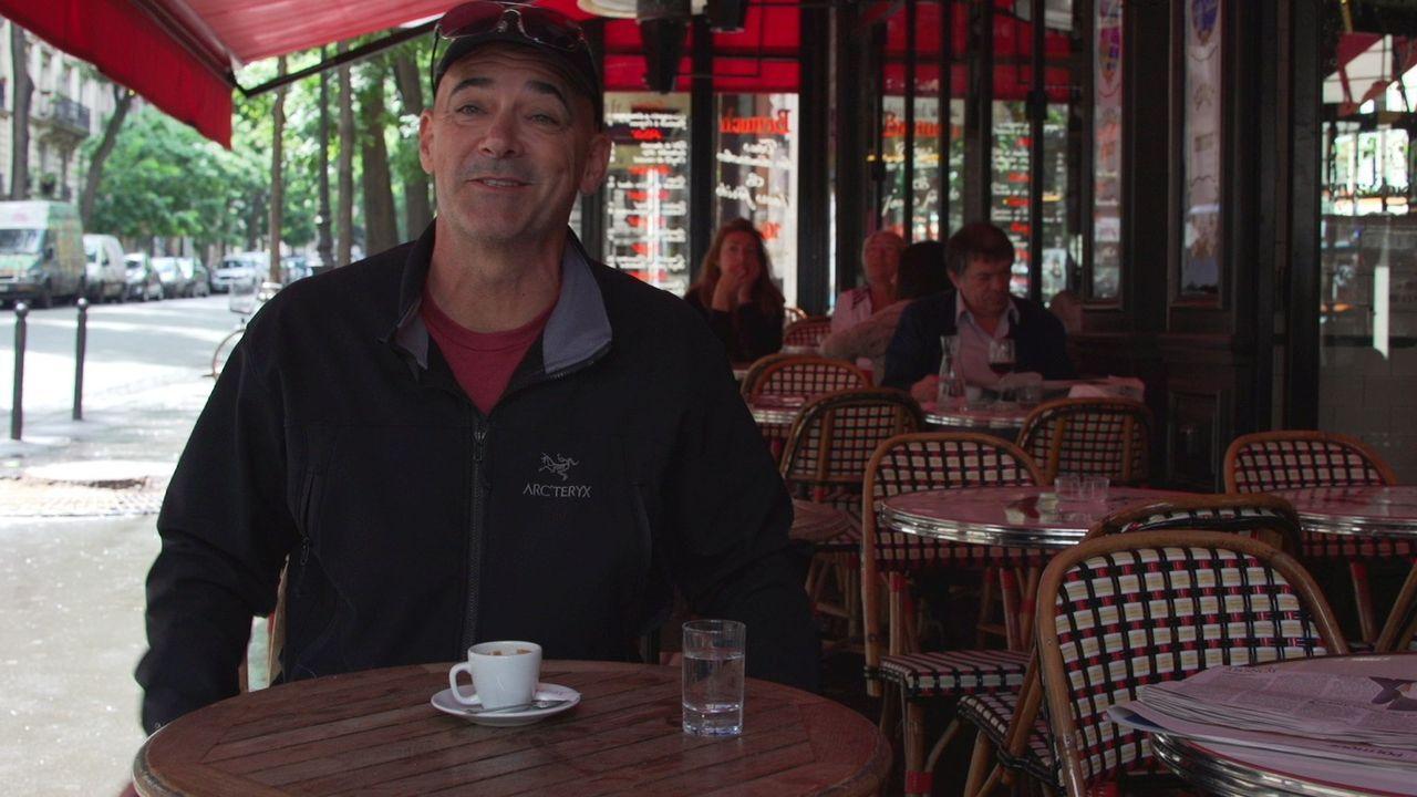 Todd hat vor, sich mit einem Kaffee-Food-Truck vor dem Louvre in Paris aufzustellen. Leider ist die französische Hauptstadt nicht besonders offen fü... - Bildquelle: 2015, The Travel Channel, L.L.C. All Rights Reserved.