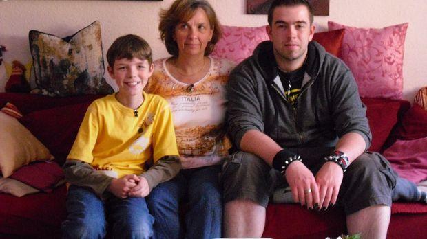 Rodgau bei Frankfurt - In einem netten Einfamilienhaus ist der 21jährige Sasc...