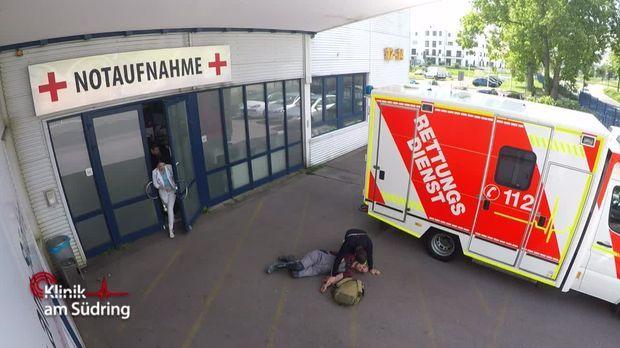 Klinik Am Südring - Klinik Am Südring - Der Unbekannte Vor Der Notaufnahme