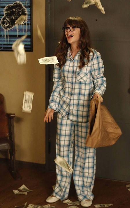 Die verantwortungsvolle Jess (Zooey Deschanel) kann nicht mit ansehen, wie ihr Freund sein ganzes Geld für unnötige Dinge ausgibt ... - Bildquelle: TM &   2013 Fox and its related entities. All rights reserved.
