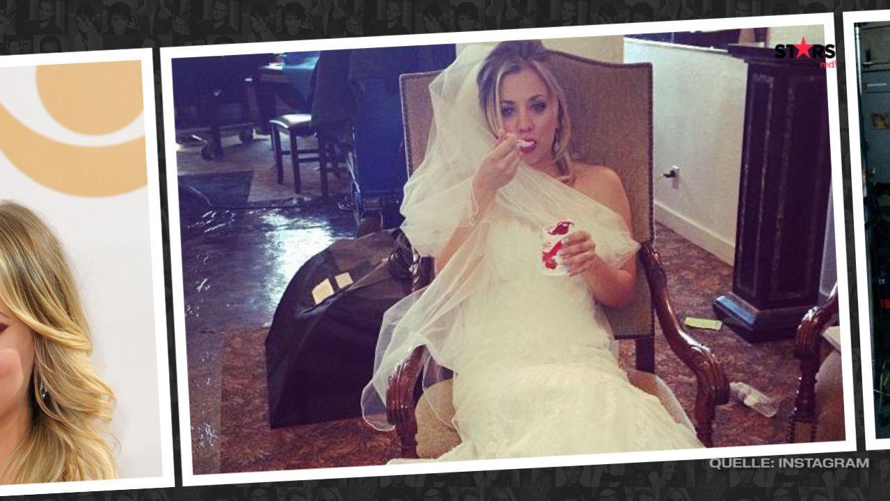 Kaley Cuoco Hochzeitskleid - Bildquelle: Instagram