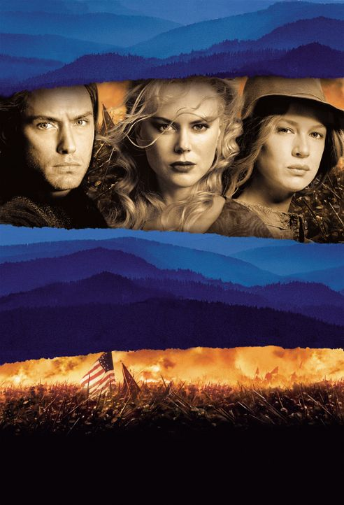 """Unterwegs nach Cold Mountain"" mit (v.l.n.r.) Jude Law, Nicole Kidman und Renée Zellweger ... - Bildquelle: Phil Bray MIRAMAX Films/Dimension Films. All Rights Reserved."