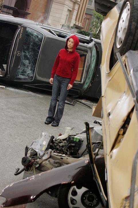 Ein prophetischer Geist (Vivian Wu) sucht Melinda immer wieder auf, und konfrontiert sie mit schrecklichen Bildern, von Katastrophen. Dieser Geist h... - Bildquelle: ABC Studios