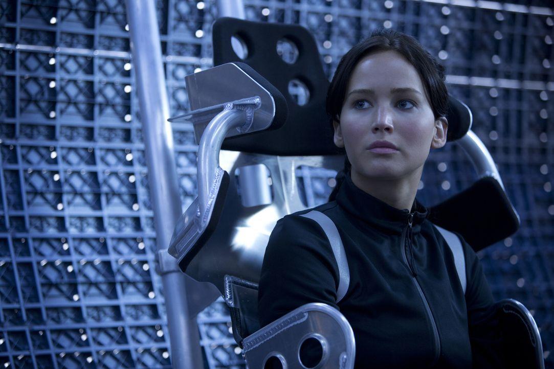 Das Drama ihres Lebens beginnt von neuem: Katniss (Jennifer Lawrence) muss erneut in die Arena ... - Bildquelle: Studiocanal GmbH