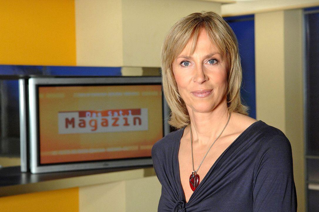 """Gaby Papenburg moderiert am Wochenende """"Das Sat.1-Magazin"""". - Bildquelle: Sat.1"""