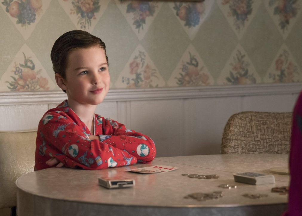 Lernt von seiner Großmutter einige Lektionen, die ihn sein ganzes Leben lang begleiten werden: Sheldon (Iain Armitage) ... - Bildquelle: Warner Bros.