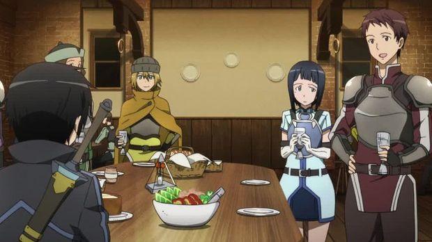 Sword Art Online - Sword Art Online - Staffel 1 Episode 3: Das Rentier Mit Der Roten Nase