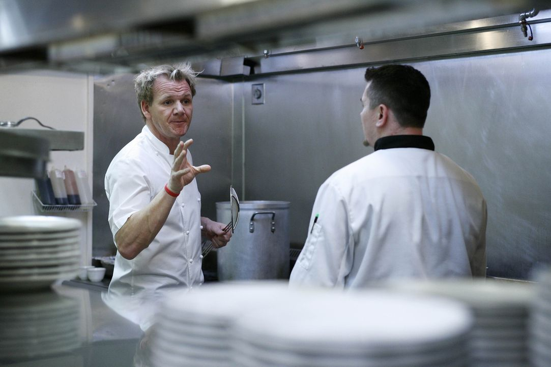"""Das """"Giuseppi's"""" ist ein Familienbetrieb, dem das Wasser bis zum Halse steht. Der Laden läuft nicht, die Einrichtung ist altbacken und dem Koch fehl... - Bildquelle: Fox Broadcasting. All rights reserved."""