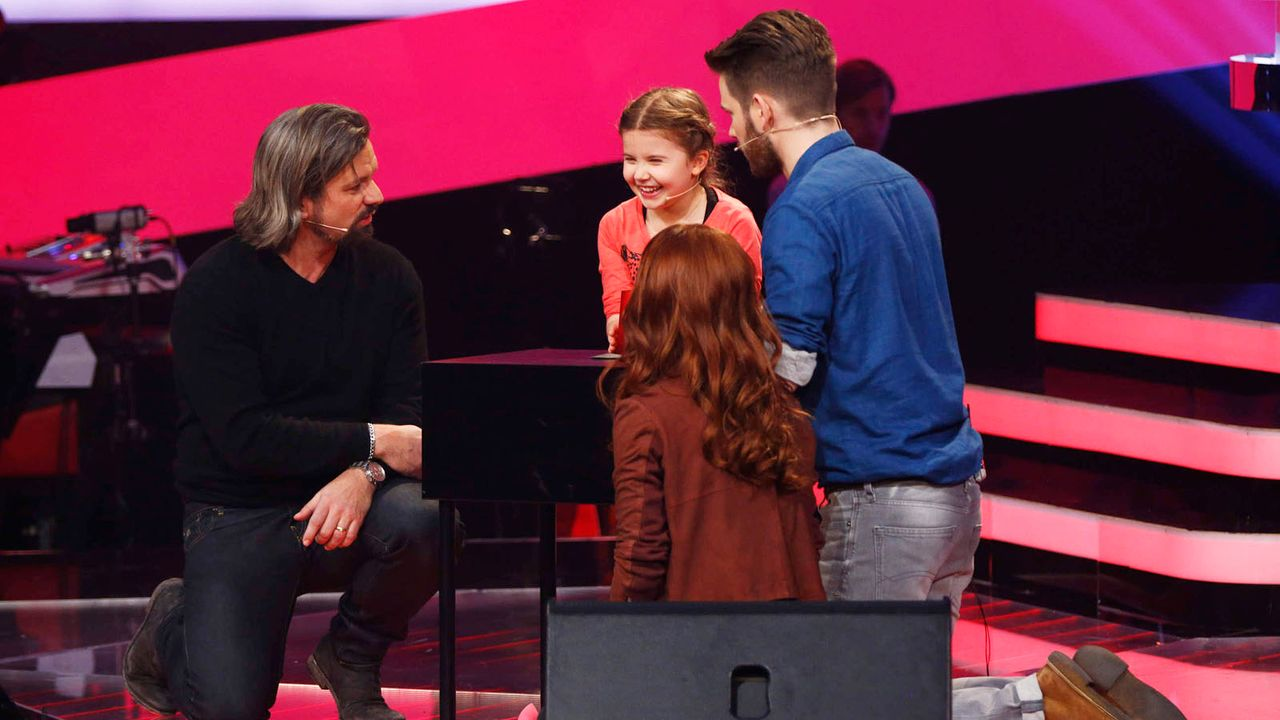The-Voice-Kids-Stf02-Vorschau-13-SAT1-Richard-Huebner - Bildquelle: SAT.1/Richard Huebner