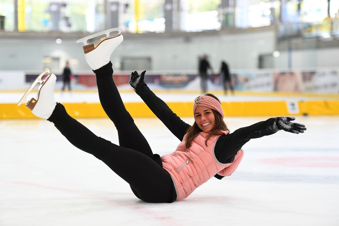 Sarah Lombardi Dancing on ice Training - Bildquelle: Fotograf: Willi Weber