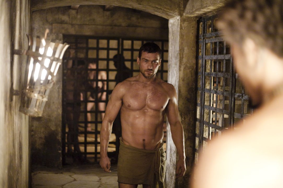 Spartacus (Andy Whitfield) hat gewählt: Er bleibt Gladiator ... - Bildquelle: 2010 Starz Entertainment, LLC