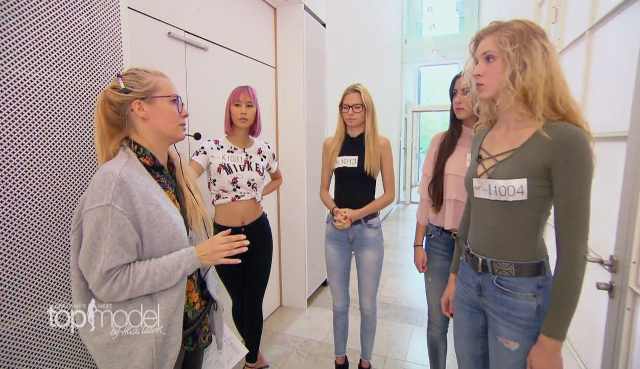 GNTM-S12-Sendung01-Casting-Koeln20 - Bildquelle: ProSieben