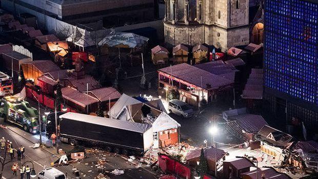 Der Berliner Weihnachtsmarkt nach dem Anschlag 2016