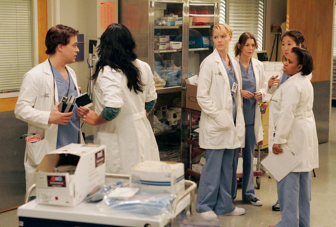 Ein Fährunglück hält das gesamte Personal des Seattle Grace Hospitals auf Trab ... - Bildquelle: Touchstone Television