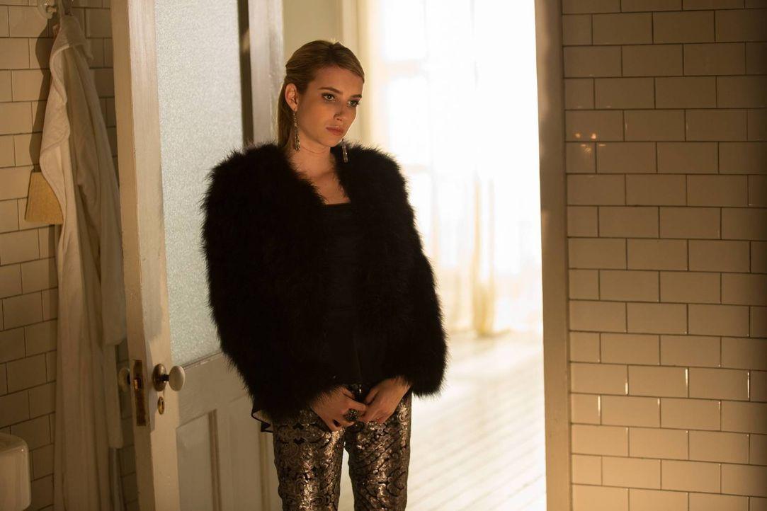 Treibt die Ablehnung von Kyle Madison (Emma Roberts) zu unüberlegten Handlungen? - Bildquelle: 2013-2014 Fox and its related entities. All rights reserved.
