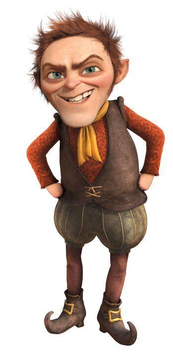 Dem wortgewandten Rumpelstilzchen (Bild) sollte man lieber nicht trauen. Der Oger Shrek bemerkt dies jedoch zu spät ... - Bildquelle: 2012 DreamWorks Animation LLC. All Rights Reserved.