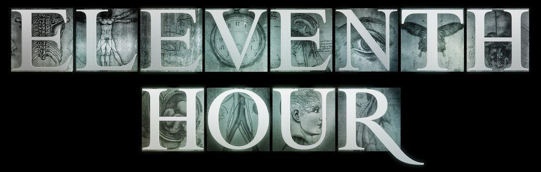 """Eleventh Hour - Einsatz in letzter Sekunde - """"Eleventh Hour"""" - Logo..."""