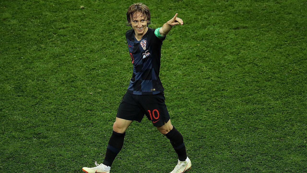 Modric vor alleinigem kroatischen WM-Rekord - Bildquelle: 2018 Getty Images