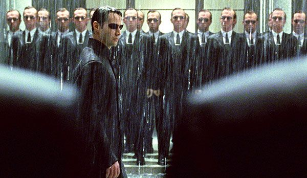 Platz 8: Agent Smith aus Matrix - Bildquelle: dpa