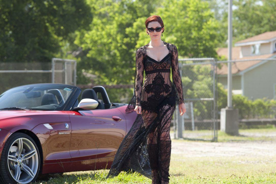 Genießt voll und ganz die dunkle Seite ihrer Macht: Ridley (Emmy Rossum) ... - Bildquelle: 2013 Concorde Filmverleih GmbH