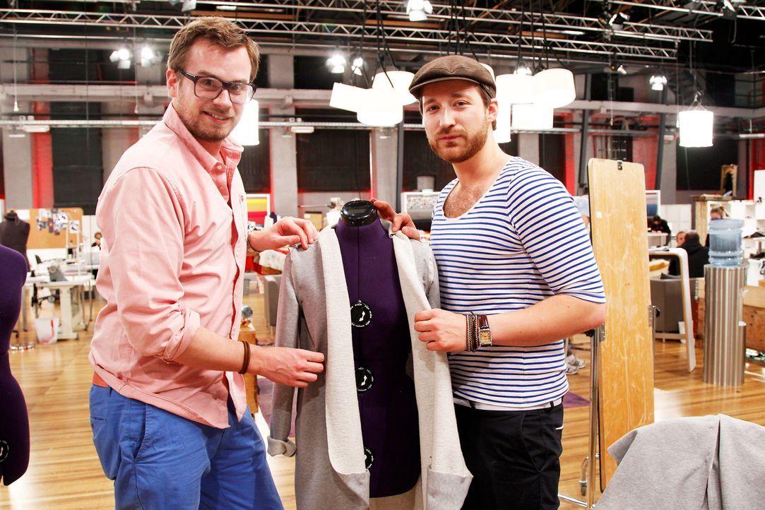 Fashion-Hero-Epi03-Atelier-77-Pro7-Richard-Huebner - Bildquelle: Richard Huebner