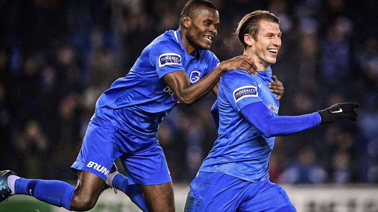 Platz 8: KRC Genk (Jupiler Pro League/Belgien) - Bildquelle: imago/Belga