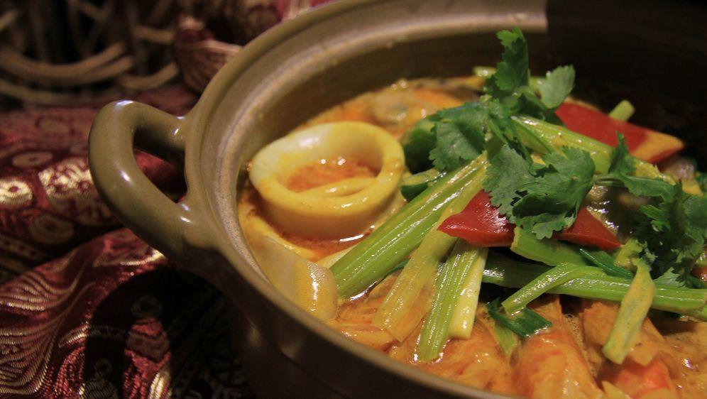 Thai-Curry mit Meeresfrüchten