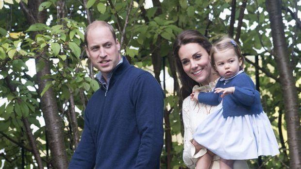 Kate Middleton in Sorge: Charlotte von Prinz William bevorzugt?