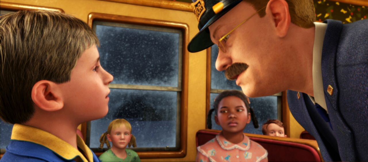 Der kleine Junge (l.) hat die Notbremse gezogen, um einem anderen Kind das Einsteigen zu ermöglichen, was den Schaffner (r.) empört, denn schließlic... - Bildquelle: Warner Bros. Pictures
