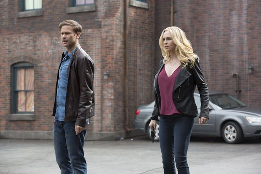 Vampire Diaries - Lassen ihr ruhiges, geregeltes Leben zurück, um das von Bon...