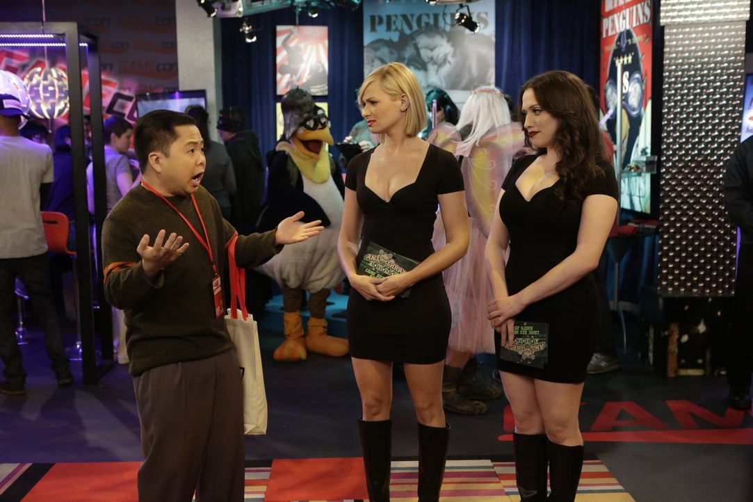 Kat dennings beth behrs 2 broke girls s05e11 - 3 part 7