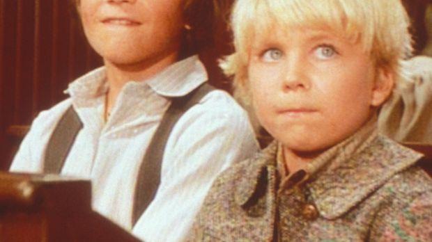 Weil er stottert, wird der kleine Gideon (Peter Billingsley, l.) von seinen K...