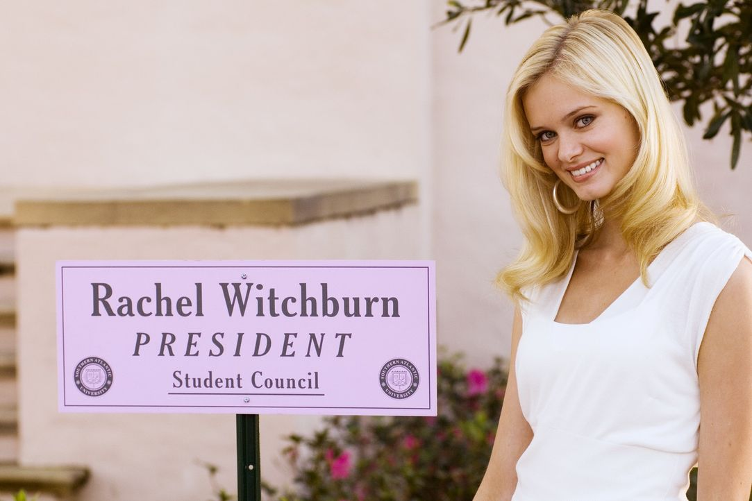 Die selbstverliebte Rachel (Sara Paxton) regiert mit eiserner Hand über ihre Kommilitoninnen - vor allem zu ihren eigenen Gunsten ... - Bildquelle: 2007 Universal Studios, All Rights Reserved