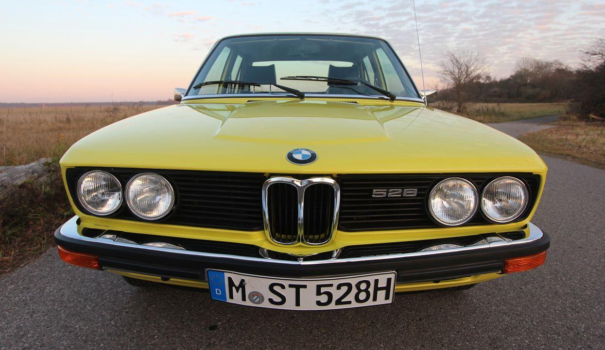 1972er 5er BMW - Bildquelle: Verwendung weltweit, usage worldwide