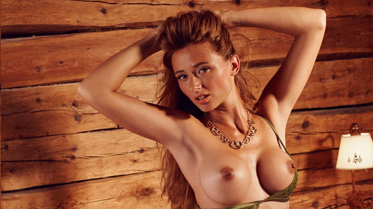 Jessica_Kuehne_Bett_2 - Bildquelle: Sacha Eyeland für Playboy Oktober 2015