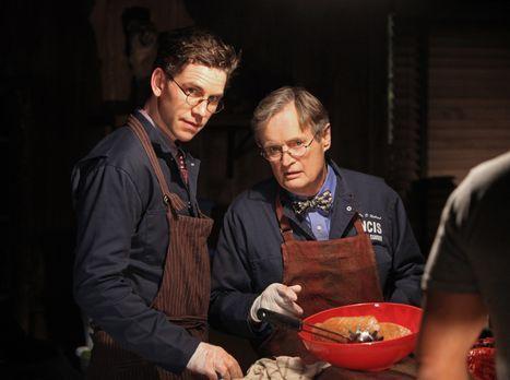Ihr Leben ist in großer Gefahr: Ducky (David McCallum, r.) und Jimmy (Brian D...
